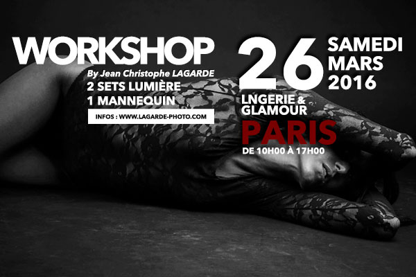 WORKSHOP LINGERIE PARIS JEAN CHRISTOPHE LAGARDE